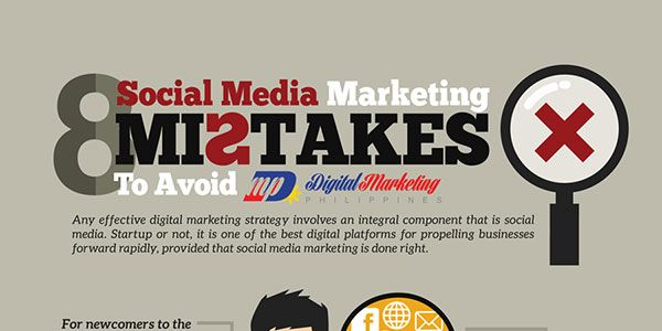 8 Social Media Marketing Mistakes To Avoid