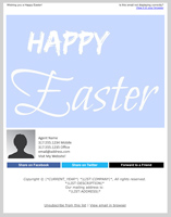 Happy Easter Email Template
