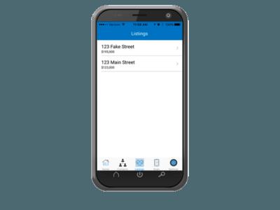 Real Estate Listings Mobile App